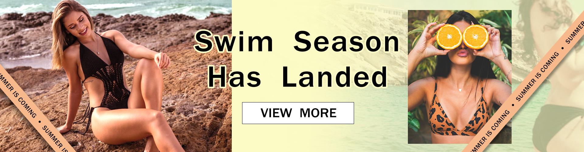 swim season has landed