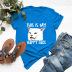 packs printed cotton short-sleeved t-shirt women NSSN2699