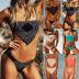 swimsuit split bikini  NSHL2056