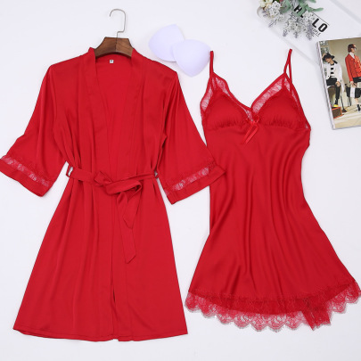 Two-piece Sexy Nightgown  NSMR12741