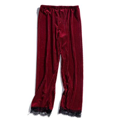 Autumn Winter New Thick Gold Velvet Pajama  NSMR12742