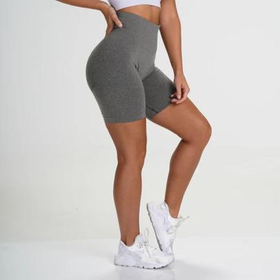 Fashion Seamless Tight Fitness Yoga Shorts  NSLX13168