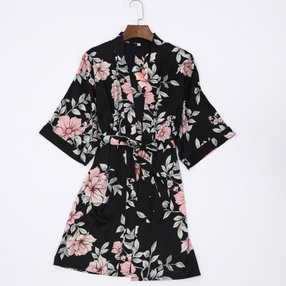 New Printed Single-piece Nightgown NSMR18914
