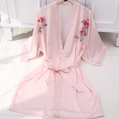 Women's New Fashion Casual Printed Night Gown  NSMR19670