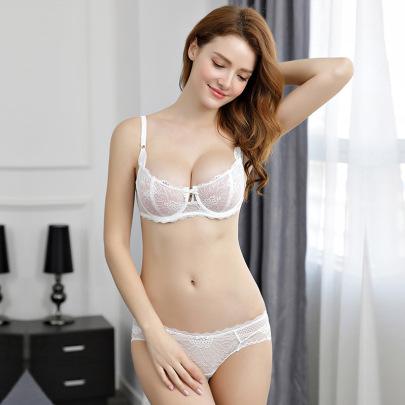 Summer Ultra-thin Transparent Sexy Lace Underwear  NSWM23041
