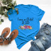 wreath letters comfortable short-sleeved T-shirt NSSN1468