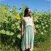 Hot selling fashion printed ruffled sling dress  NSDF1615