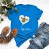 women's daisy short sleeve women's T-shirt NSSN1663