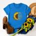casual sunflower short sleeve women's t-shirt NSSN1788