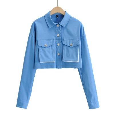 New Lapel Short Frayed Jacket NSHS25265