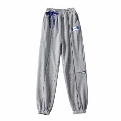 Reflective Strip Elastic Waist Pants  NSHS46963