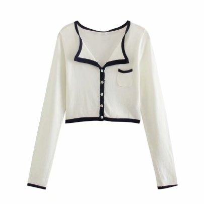 Spring New Knit Cardigan Jacket NSAM40212