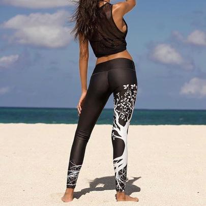 Printing Yoga Fashion Sports Legging NSNS47236