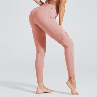 Yoga Hollow Stitching Pants NSNS47276