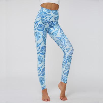 New Yoga Printing Pants Sports Pants NSNS47279