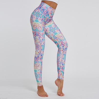 New Yoga Printing Pants NSNS47315
