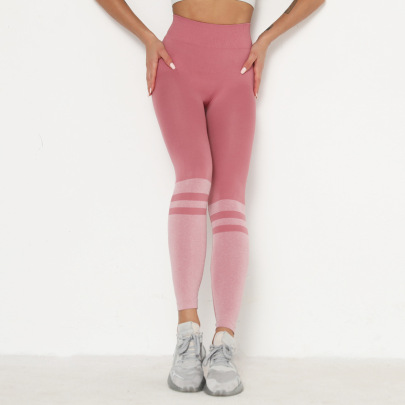 Seamless Stretch Tight-fitting Sports Leggings NSNS47322