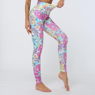 New Yoga Printing Pants Pants NSNS47323