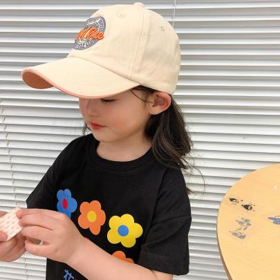 Children's Printed Sun Multi-color All-match Duckbill Hat NSCM54371