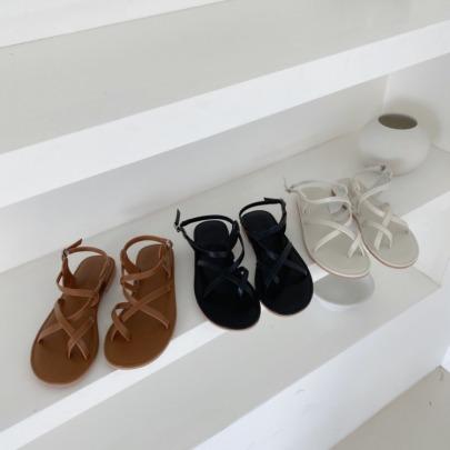Summer Fashion Vacation Flat Roman Sandals NSHU56572