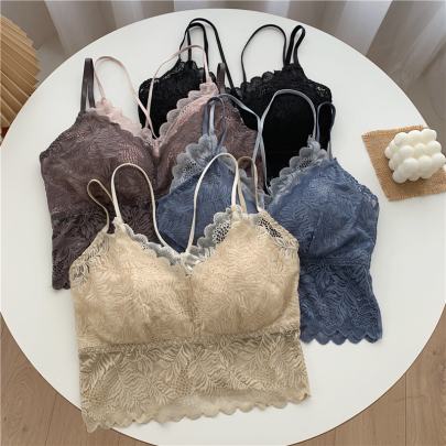 New Comfortable Two-piece Lace Camisole NSYAY56964