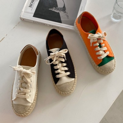 New Thick-soled Canvas Casual Shoes NSHU57021