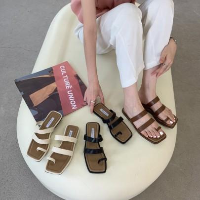 New Summer Outer Wear Flat Sandals NSHU57029