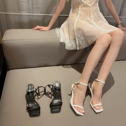 Summer New High Heels Fashion Rhinestone Stiletto NSHU57047