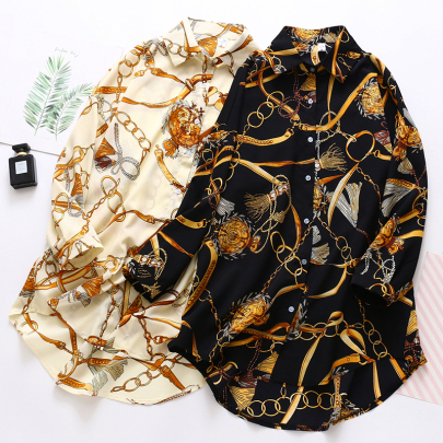 Summer Chiffon Sunscreen Mid-length Long-sleeved Shirt  NSYID57138