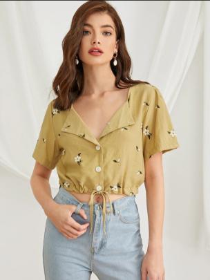 Short-sleeved Summer New Loose Color Thin Casual Lapel Shirt NSLIB57131