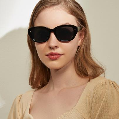 Sunscreen Fashion Full Frame Round Face Small Frame Sunglasses NSXU57265