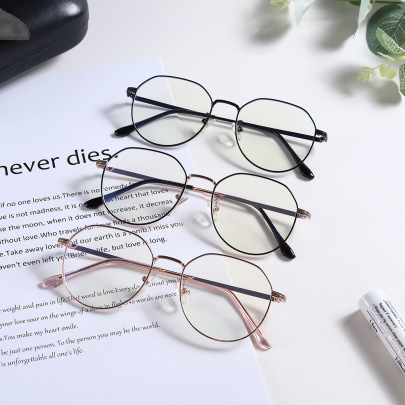 New Metal Frame Flat Equipped With Glasses NSXU57267