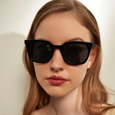 New Square Texture Classic Sunglasses NSXU57272