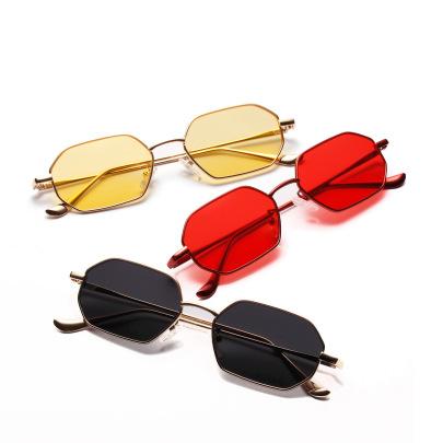 Male Small Frame Ocean Transparent Color Lens Glasses NSXU57281