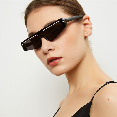 Pointed Rimless Party Personality Sunglasses NSXU57288