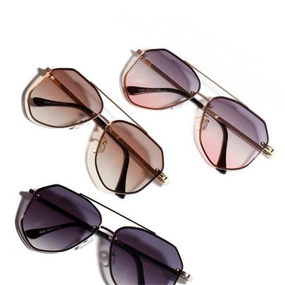 Retro Toad Metal Big Frame Sunglasses NSXU57292
