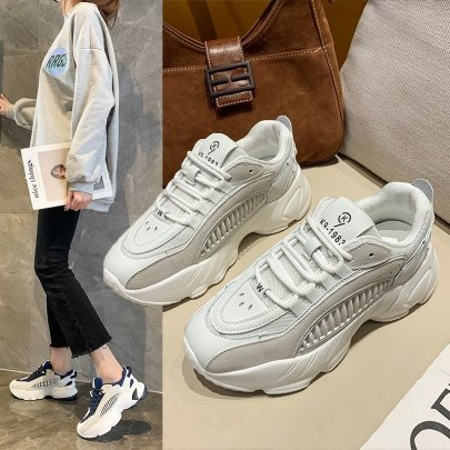 Breathable Comfortable Thick-soled Casual Sports NSZSC57536