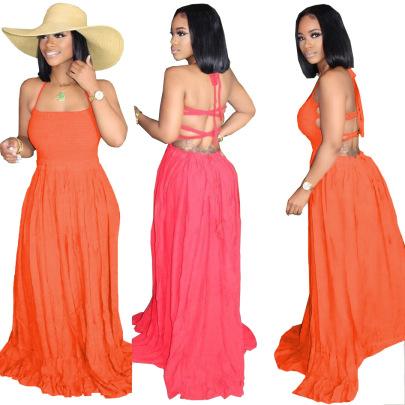 Vacation Style New Fashion Long Skirt  NSALI57760