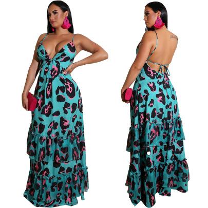 Sexy Bohemian Long Beach Holiday Strapless Skirt NSALI57763