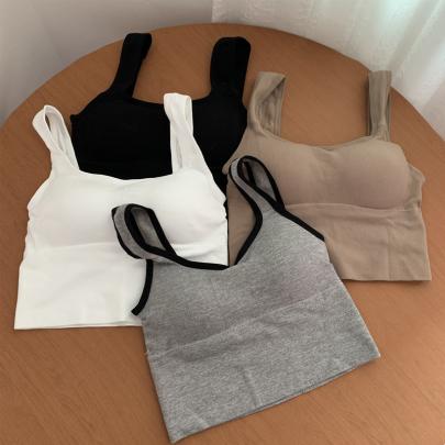 U-shaped Belt Short Sports Top Vest NSYID58344
