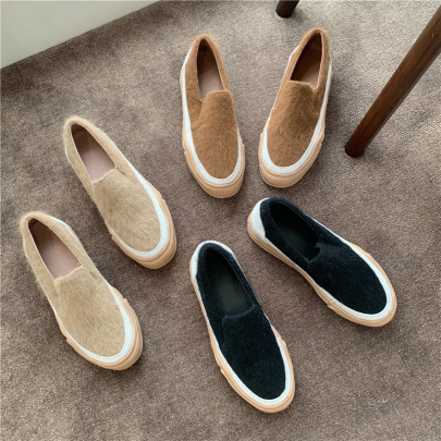 Autumn And Winter New Single Thick-soled Comfortable Casual Shoes NSHU58269