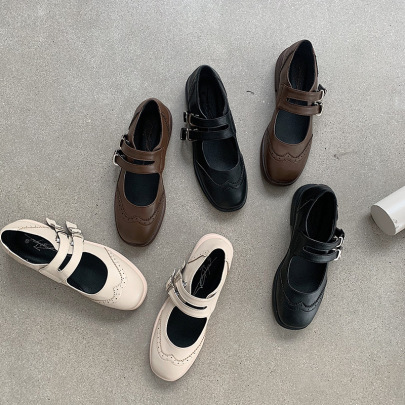 Autumn New Fashion Small Leather Shoes  NSHU58270