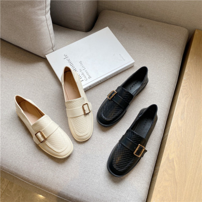 Spring And Autumn New Style Small Leather Shoes  NSHU58273