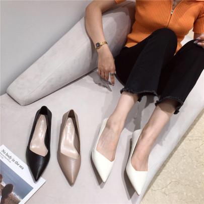 New Fresh And Sexy Single Mid-heel Stiletto NSHU58279