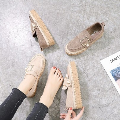Spring New Style Flat Platform Single Shoes NSHU58282