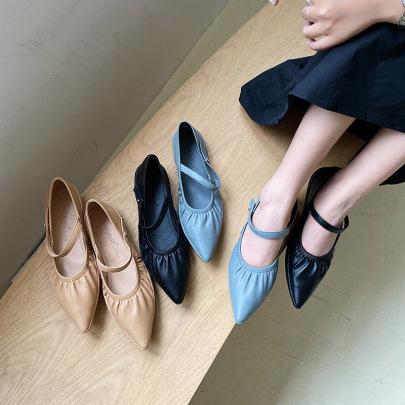 Autumn New Fashion Low-heeled Single Shoes NSHU58285