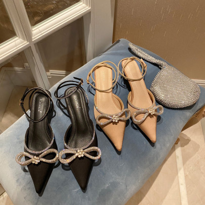 Summer New Style Diamond Buckle Pointed Sandals NSHU58312
