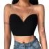 Summer new sexy V-neck suspender with rhinestone shoulder strap slim-fit vest NSSUO58475