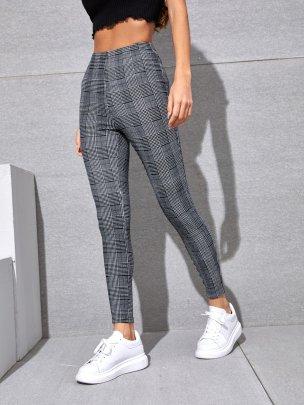 Fashion Cross Line Trousers NSCAI59166