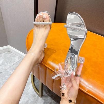 New Fashion Thick-heeled Summer High Heels Shoes NSHU59452